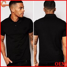 High quailty muscle fit short sleeve polo shirt for men