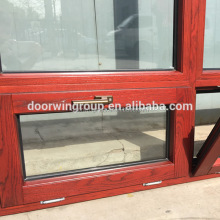 Factory finished red oak wood window cheap house windows for sale old wood windows for sale
