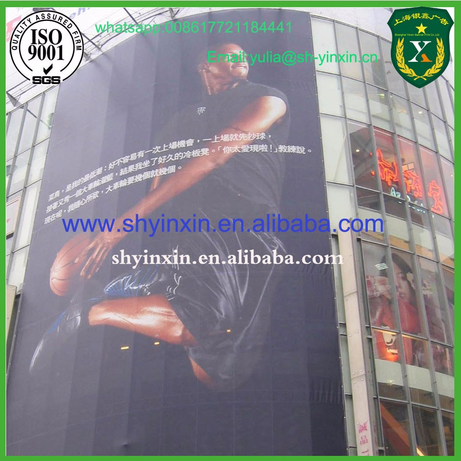 High Quality Building Glass Advertising Use One Way Vision On Sale