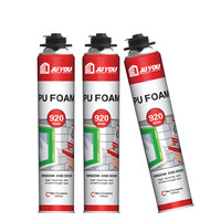 Spray PU sealant for filling seam non-yellow flameproof gap mounting