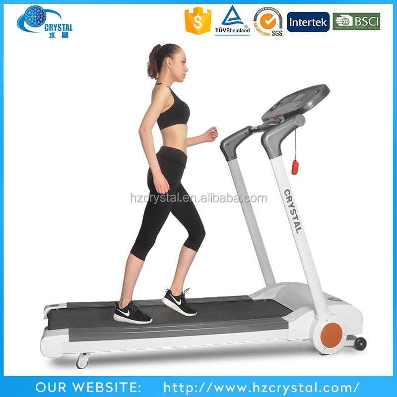 Crystal SJ-M5 New design touch screen Home gym pro fitness equipment motorized treadmill as seen on tv