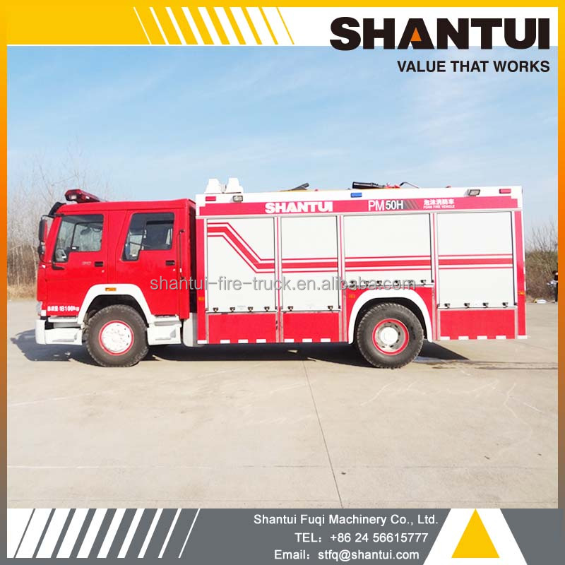 Water foam fire fighting truck PM50H