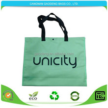 Eco-friendly waterproof tote bags/nylon foldable shopping bag