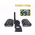 New Design High Quality 500meter Control 6 Dog Remote Pet Training Collar Anti Bark Collar