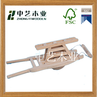 Trolley model kids assembled wooden educational toys