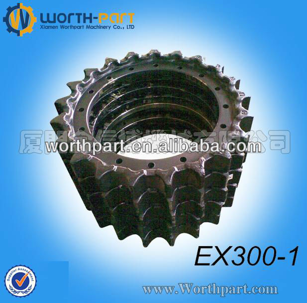 Hitachi Excavator EX300-1 Sprocket/Segment,Hitachi Undercarriage