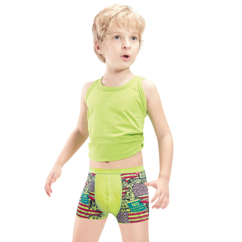 Manufacturer with Oeko-tex BSCI and SA8000 for children underwear boy models