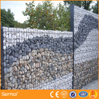 china factory high quality galfan wire gabion mur