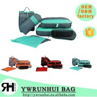 New Arrival Travel Clothing Organizer Bags in bag 7PCS Storage Mesh Pouch Travel 7pcs/ cloth organizer set For Journey