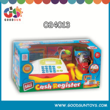 B/O electronic cash registers for kids with light and sound toys cashier