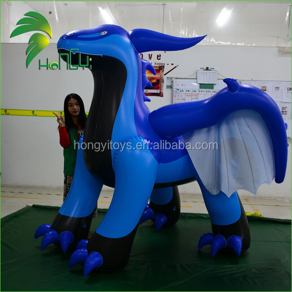 Giant Flying Blue Dragon Toys / Hongyi Inflatable Animal Toy / Inflatable Dragon