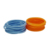 The colorful different shape silicone hair rubber bands