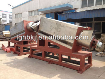 waste friction washing machinery