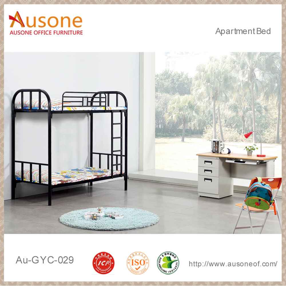 Ausone furniture bedroom kids bed double deck bed