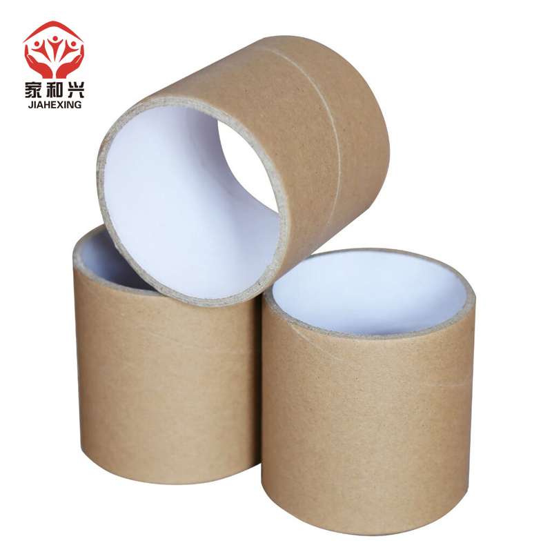 China eco friendly deodorant corrugated cardboard tube custom packaging cylinder kraft Paper small core tube packaging