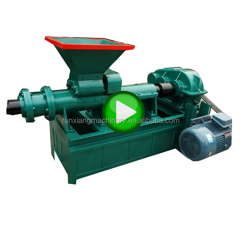 Energy saving charcoal dust briquette Coal powder briquetting press machine