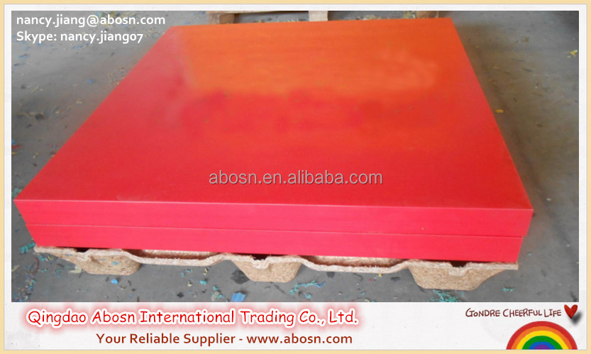 High impact resistant uhmwpe ballistic plate