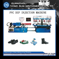1 color shoe upper lasting sole injection machine PVC DIP MACHINE