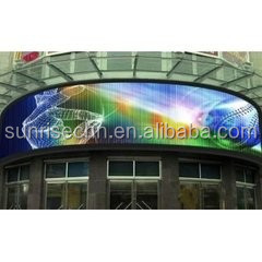 fleible led tv screen/alibaba com cn hd p20 led big full screen photos/Transparent mesh led display
