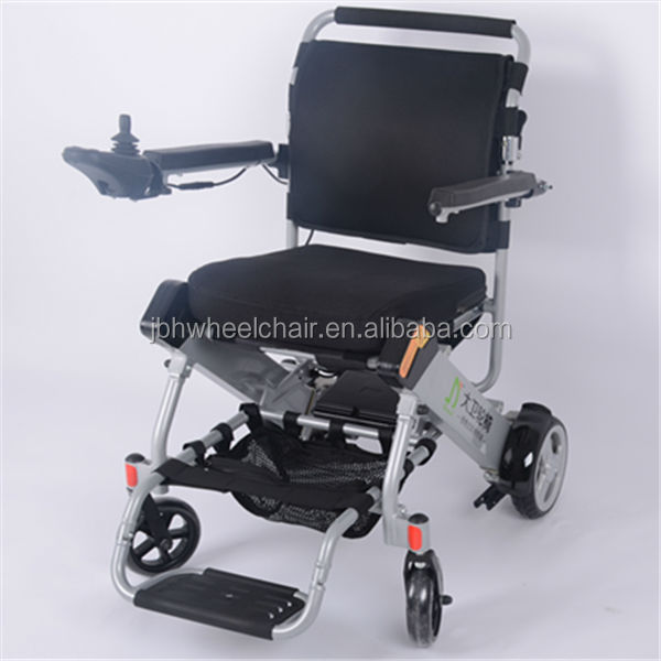 2014 new launch new design folding power wheel chair