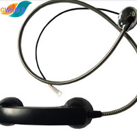Payphone Handset USB Emergency Telephone With