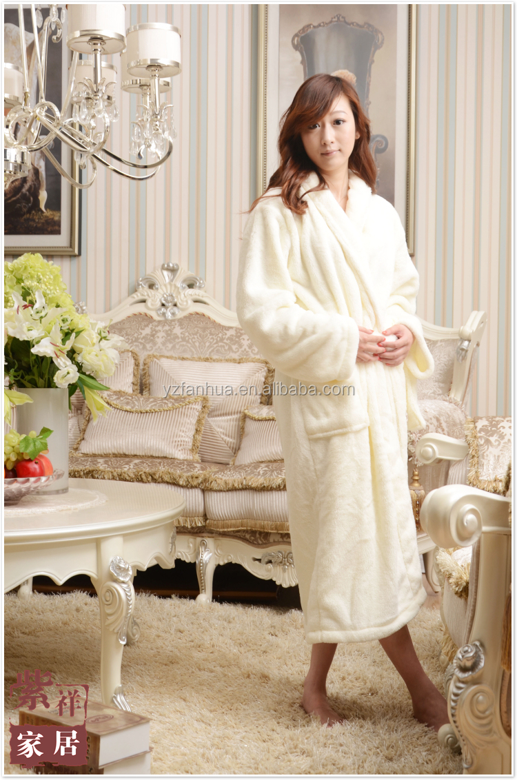 hot sale bathrobe sexy women bathrobe,New Design Flannel Bathrobes For Women, super soft coral fleece sleepwear women bathrobe