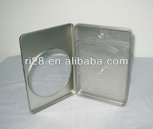 Single CD window tin case