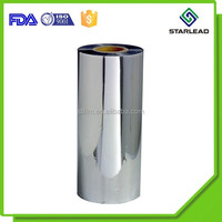 Free sample offered aluminum metallised OPP film roll from Wenzhou metalized factory
