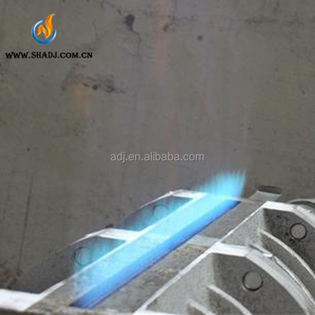 customized blue flame gas burner for Professional industrial Fabric Textile Singeing Machine