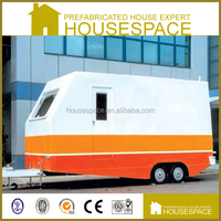 Mobile Cost Effective Container House On Wheels For Sale