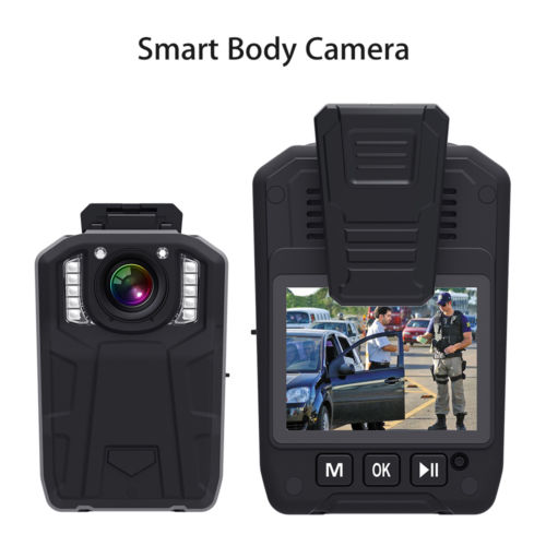 1080P HD IR Police DV Body Worn GPS 128GB Video Recorder Camera Motion Detection
