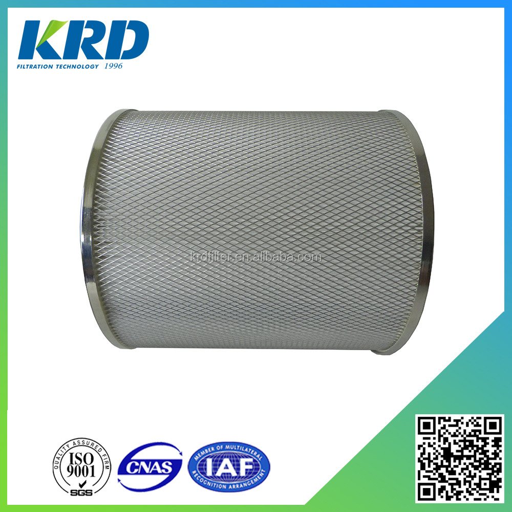 Round Air Filter Paper : Hepa paper pleated round type air filter for pollen