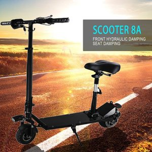 8 Inch Foldable Hoverboard Two Wheel Smart Balance Electric Scooters with Seat
