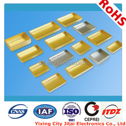 pin package, kovar housing, plating au