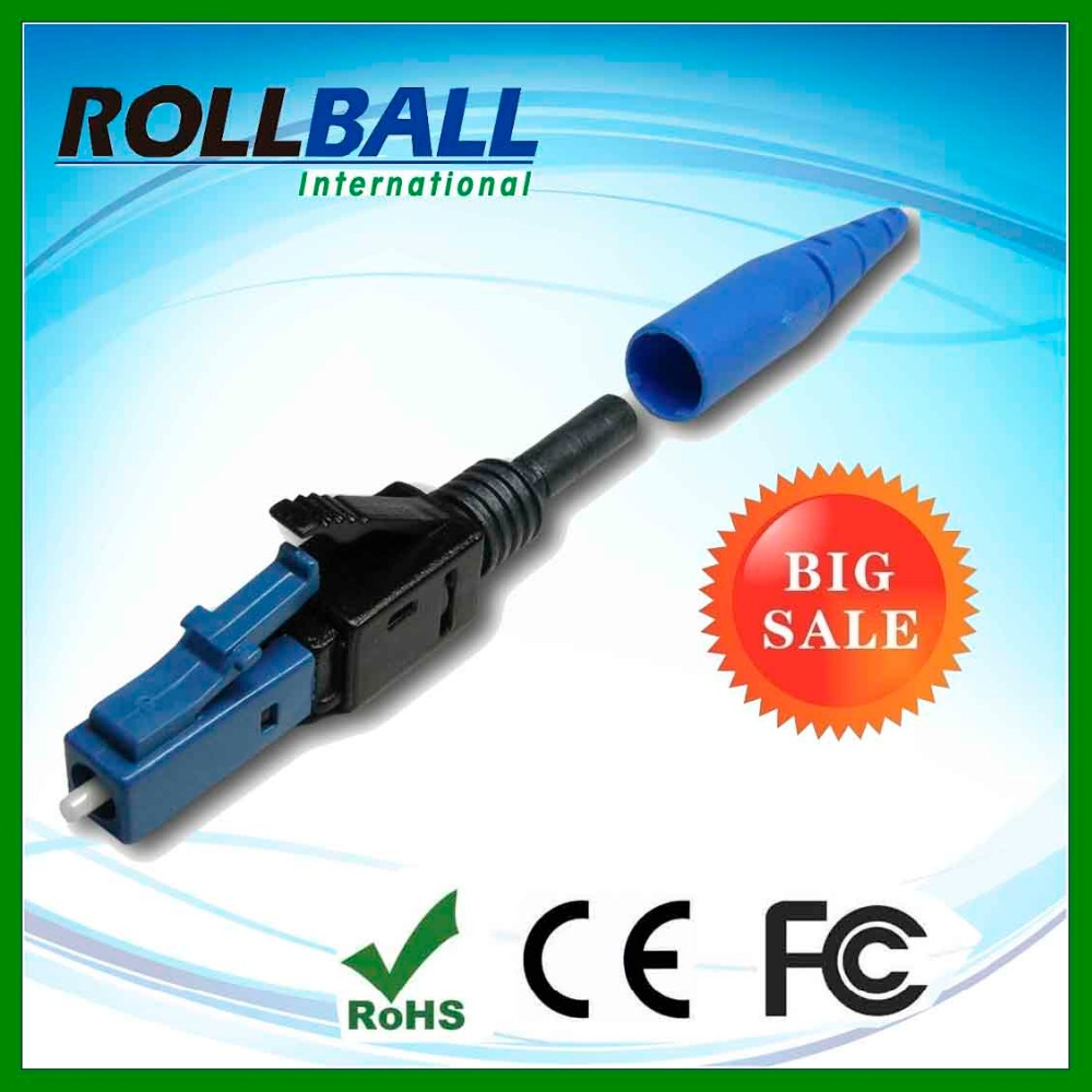 hot selling easily used 3.0mm optical fiber fast connector lc