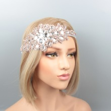 Factory Sale Luxury Gorgeous Crystal Rhinestone Wedding Dress Headbands Personalize Priceless Bridal <strong>Hair</strong> Garment <strong>Accessories</strong>