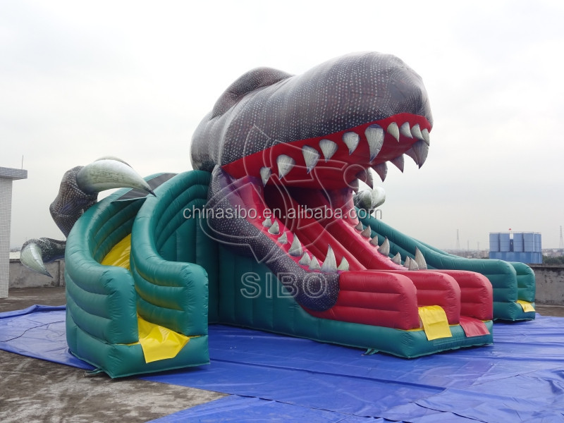 GMIF Dragon Inflatable Jumping Bouncer Bounce House Bouncer Slides
