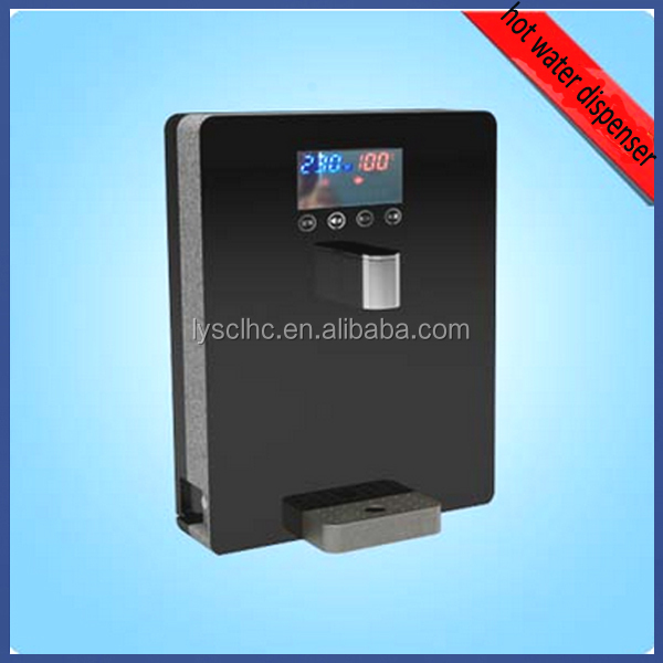 LCD display and touch button hot water dispenser china for 25-100C water temperature