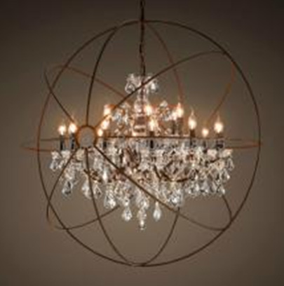 Zhongshan classical crystal square modern chandelier for dining room