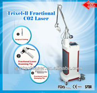 30W Trixel Fractional CO2 laser with medical CE and FDA