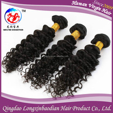2015 LXBD Factory Price black women Style Deep Wave Hair Weaving Extension Cuticle Remy Wholesale Cheap Chinese Hair