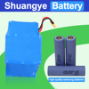 36v 42v 4.4ah 10s2p li-ion battery pack for electric scooter