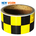 PVC / PET truck vehicle safety honeycomb reflective tape