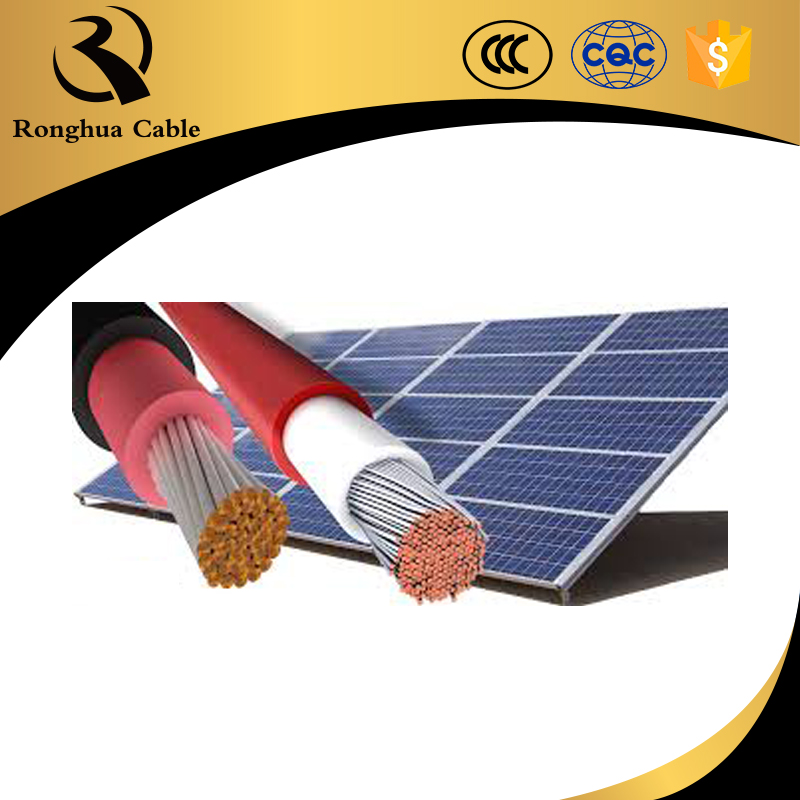 2.5mm2 4mm2 6mm2 10mm2 Ronghua PV Solar Cables