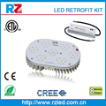Top quality ETL cETL listed 8 years warranty 200W/300w halogen lamp led replacement, 75W LED Retrofit kit
