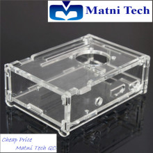 Raspberry pi acrylic transparent shell fixed frame can be disassembled and assembled computer box