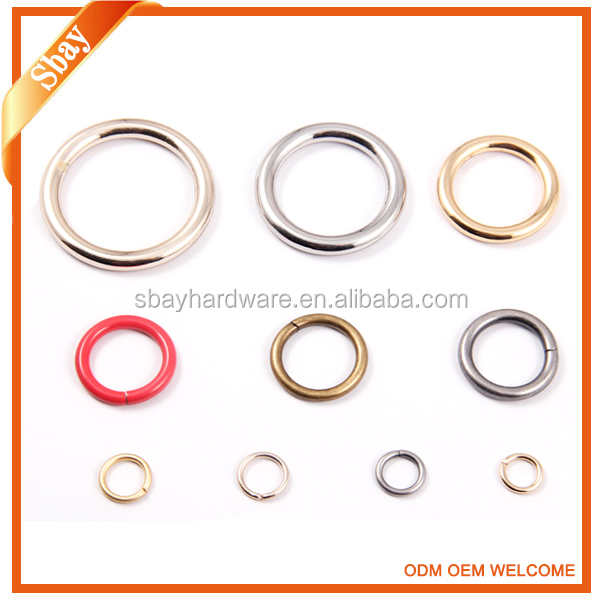 Supply different size metal o ring/iron o ring/o ring buckle