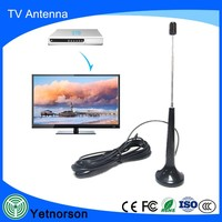 Rg174 Cable F Cheap DVB-T Active VHF/UHF Digital TV Antenna