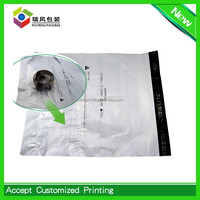 Custom waterproof pouch invoice mailing bag with pocket