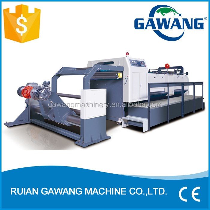 High Speed Paperboard Sheeter And Cutter Machine